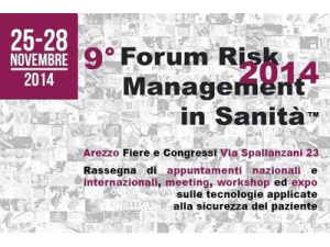 IX Forum Risk Management in Sanità - Cover