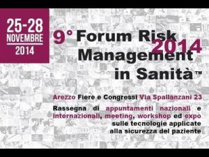 IX Forum Risk Management in Sanità - Cover