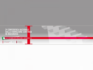 III Conferenza Nazionale Formazione Continua in Ingegneria - Cover