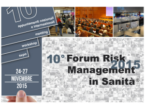 X Forum Risk Management Sanita - Cover