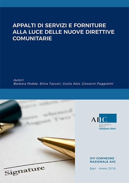 Appalti di servizi e forniture alla luce delle nuove direttive comunitarie